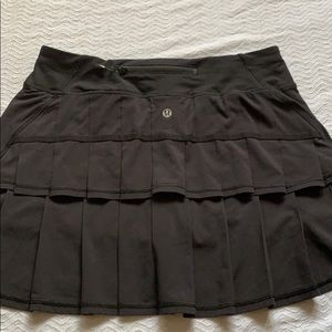 Used and worn lululemon pace setter skirt